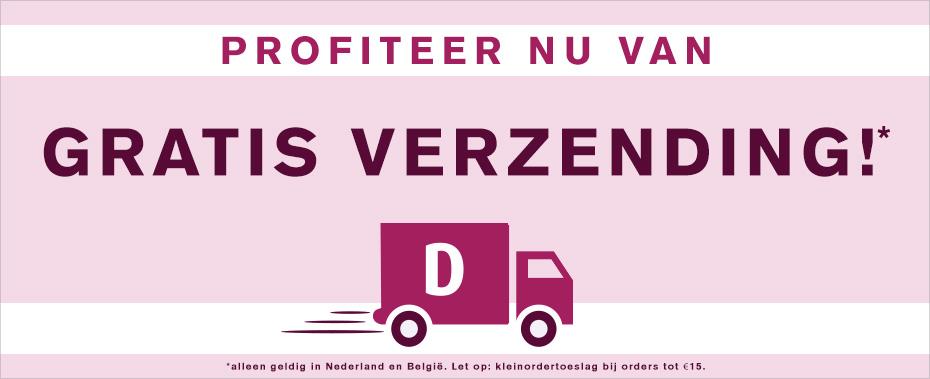 Gratis verzending bij drogisterij.net (vanaf €15)