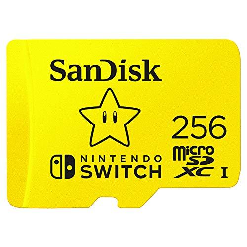 Sandisk 256 GB Nintendo Switch SD Kaart