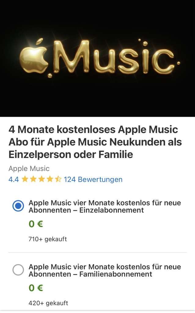 Kortingscode voor minimaal 1 maand gratis Apple Music