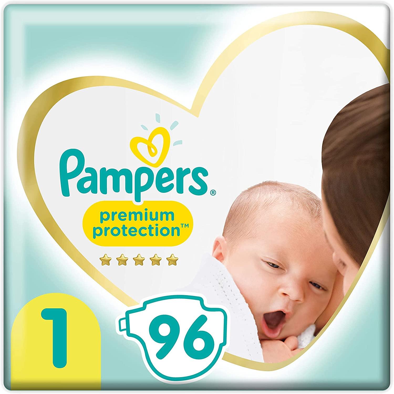 Pampers Premium Protection maat 1, 192 stuks (€0,119 per stuk)