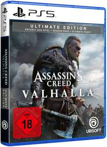 Assassins creed valhalla ultimate edition voor playstation 5