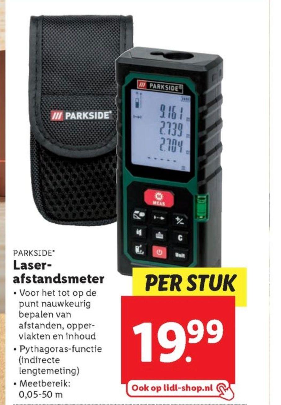 PARKSIDE® Laser-afstandsmeter