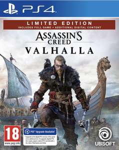 Assassin's Creed Valhalla limited edition PS4 | Amazon Exclusive