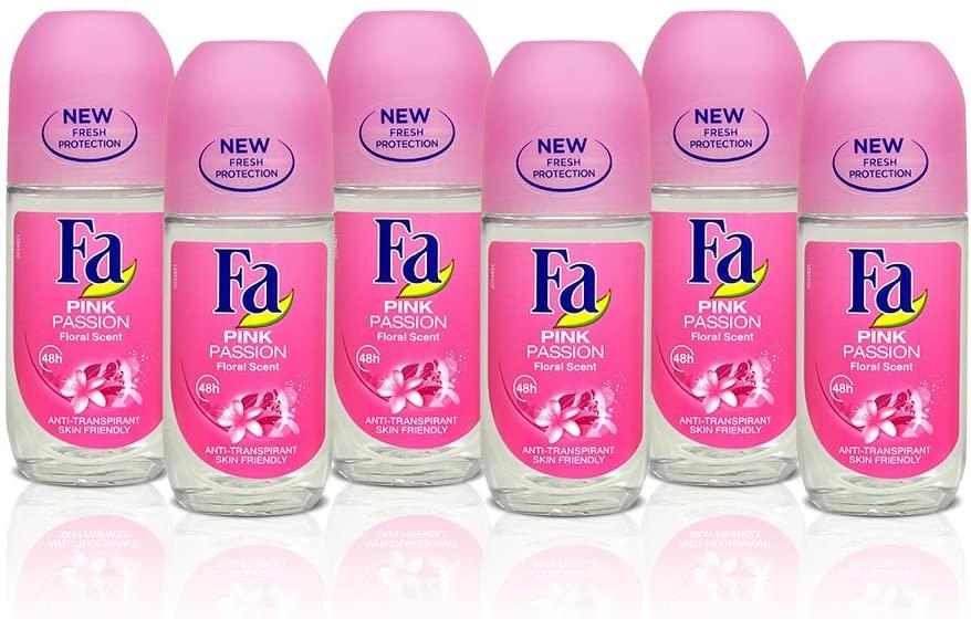 Fa Deo Roller Pink Passion - 6 stuks @ Amazon NL