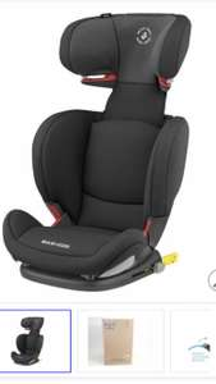 Maxi-Cosi Rodifix Airprotect kinderstoel zwart