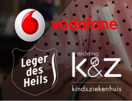 Schenk aan goede doelen d.m.v. (overgebleven) MB's @Vodafone