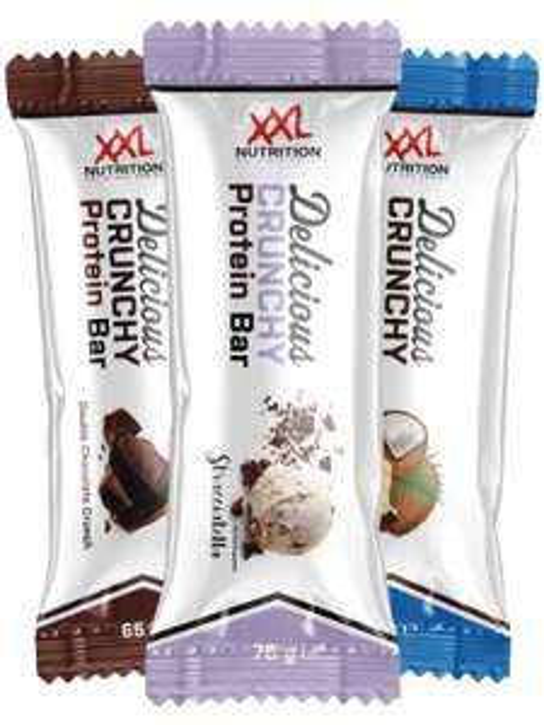 Delicious Crunchy Protein Bar 12x