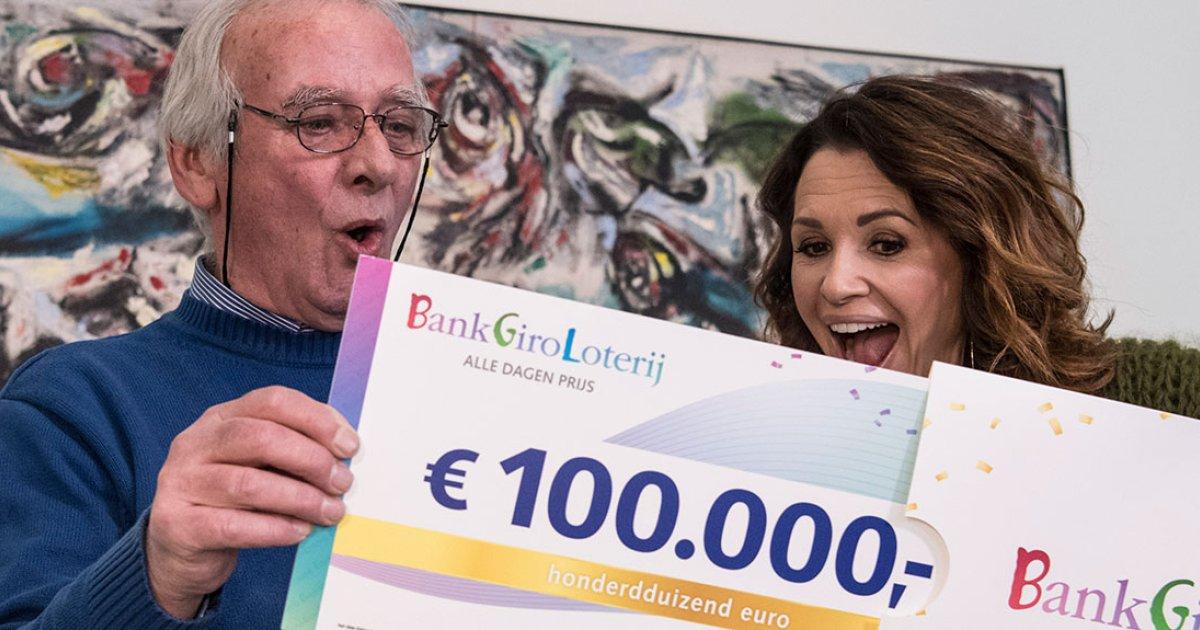 € 5,- gratis Greetz tegoed voor BankGiroLoterij klanten
