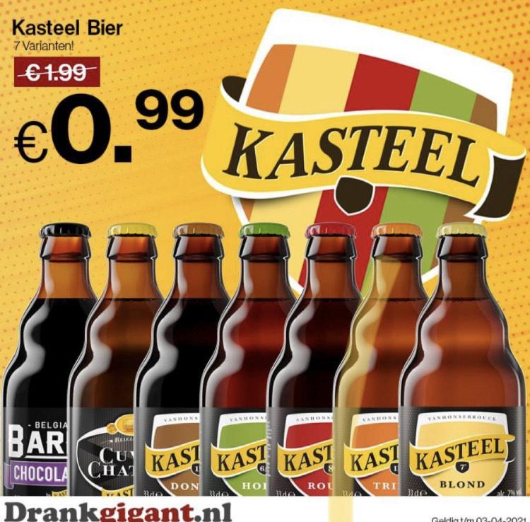 Alle Kasteel bier 99 cent