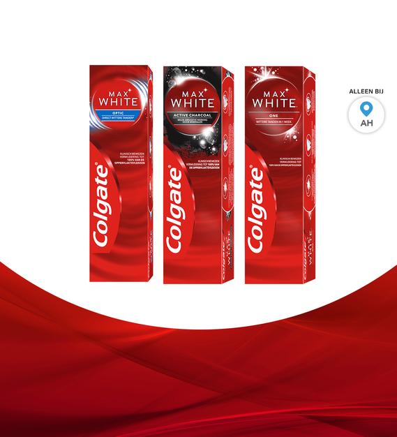 Colgate Max White: van €4,98* voor €2,49