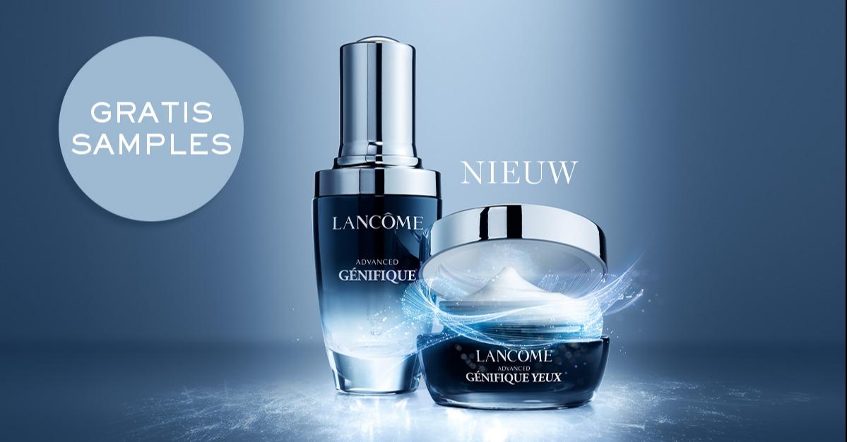 Gratis Sample Lancôme Advanced Génifique 7 dagen duo routine