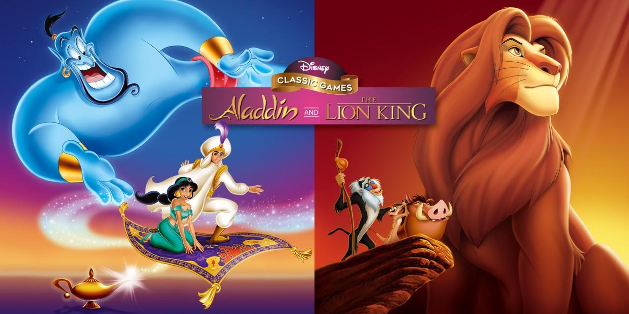 Nintendo Switch Disney Classic Games: Aladdin and The Lion King @nintendo e-shop