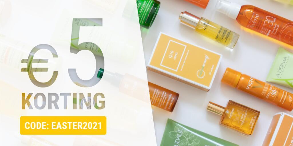 €5 korting op je bestelling vanaf €54 bij PharmaMarket