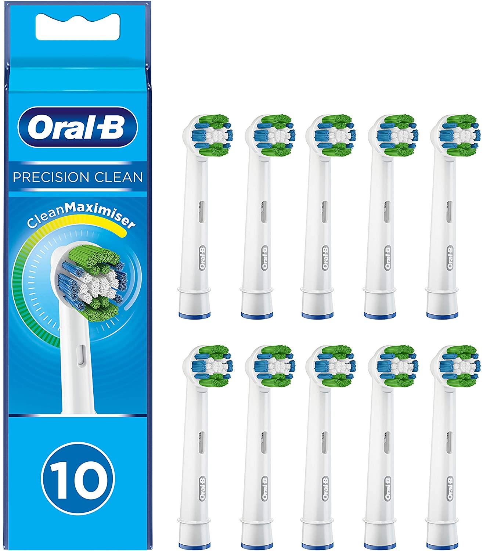 Oral-B Precision Clean Opzetborstel Met CleanMaximiser-technologie, Verpakking Van 10 Stuks