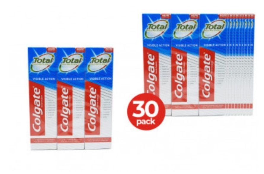 30 tubes Colgate tandpasta €9,95 @ Dagknaller (gratis verzending)