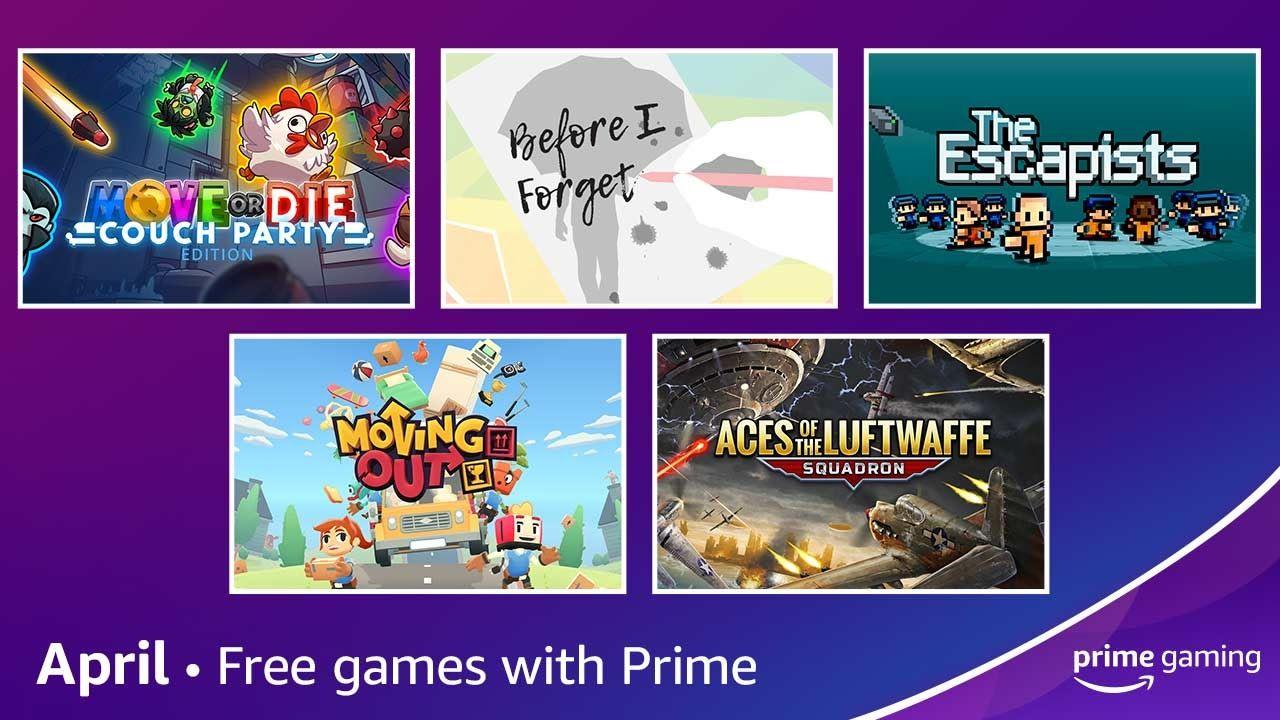 Gratis games met Amazon Prime Gaming voor April 2021