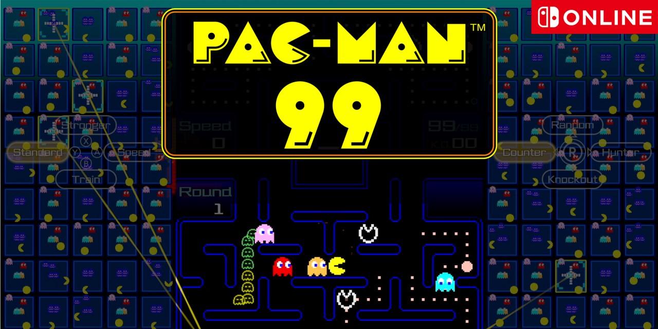 Game Pac-Man 99 gratis voor Nintendo Switch Online-leden