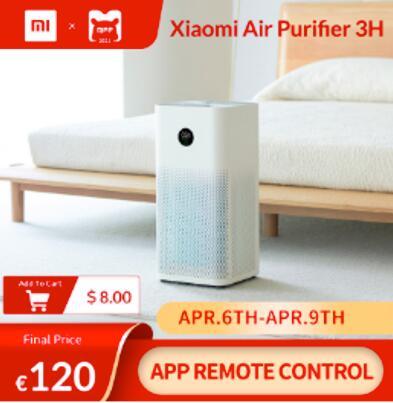 Xiaomi Air Purifier 3H - EU verzending