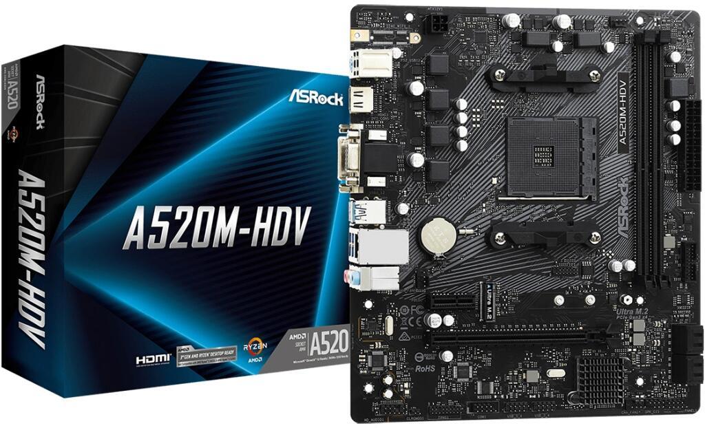 ASRock A520M-HDV bij Informatique