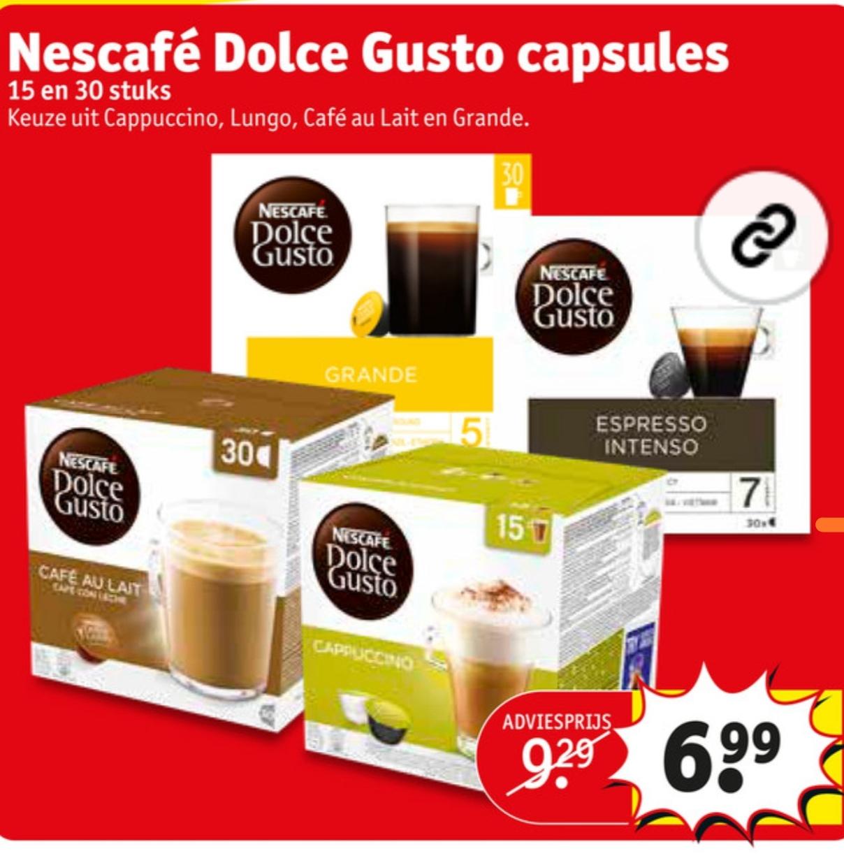 Nescafé Dolce Gusto 30 cups