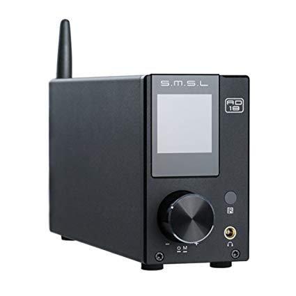 SMSL AD18 2 x 80W Stereo Bluetooth 4.2 versterker voor €109,64 @ Tomtop