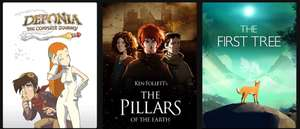 [GRATIS] (3 games) Deponia: The Complete Journey, Ken Follett's The Pillars of the Earth, The First Tree @Epic games (vanaf 15 tot 22 april)
