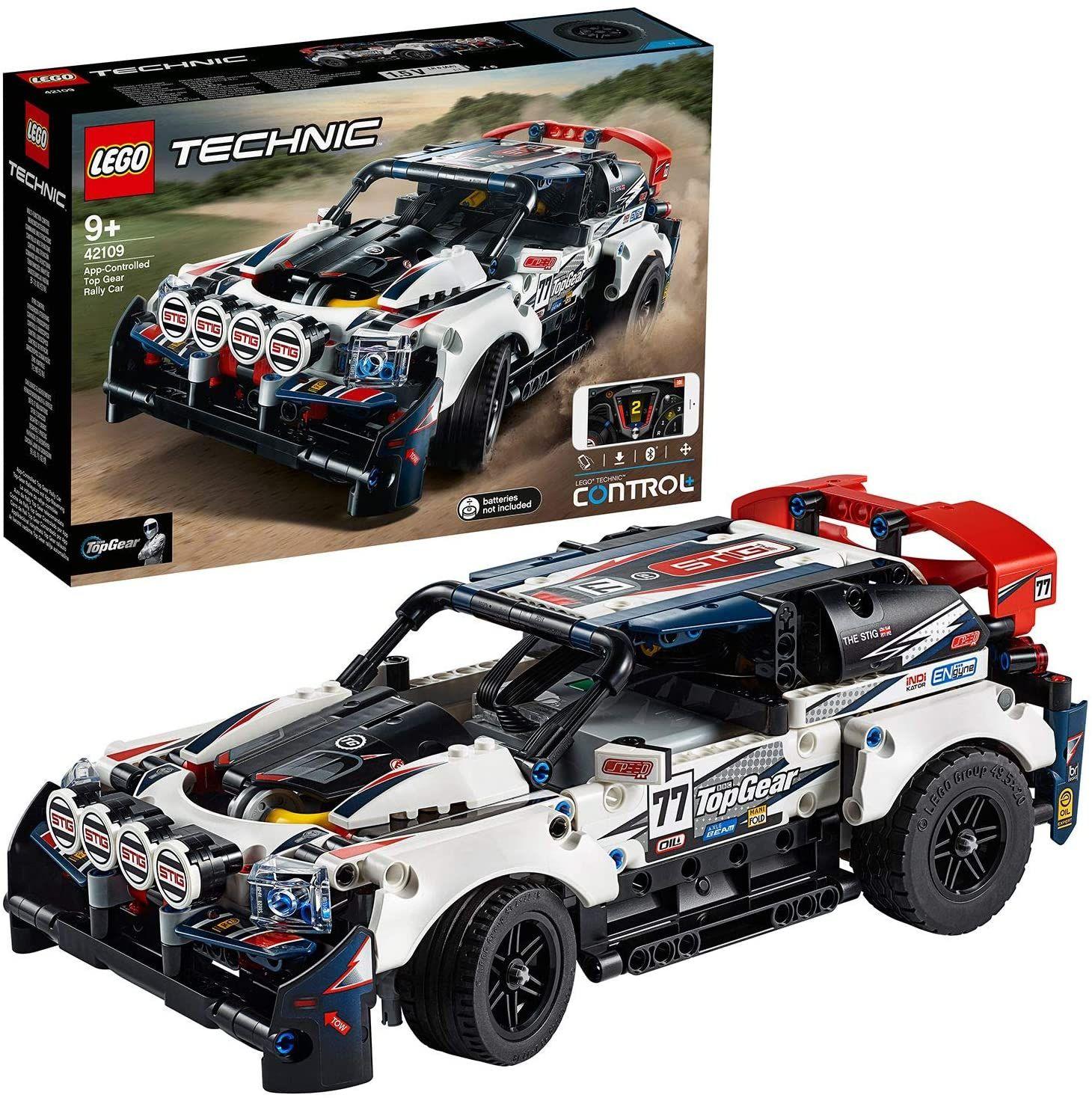 Lego technic Top Gear rallyauto met app-bediening (42109