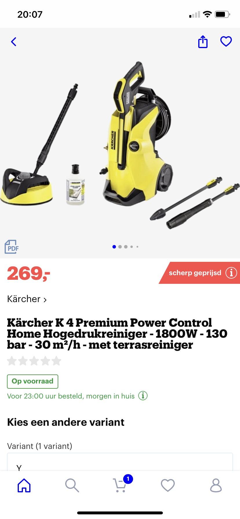 karcher k4 premium power control home