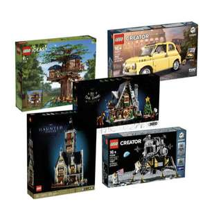 15% extra korting op Lego Hard to find sets (Ideas/Technic/Modular/etc) - Diverse Laagste ooit!