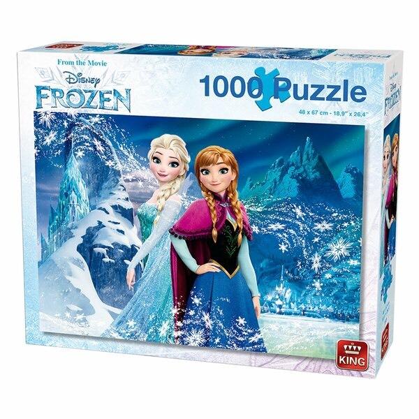 King Disney Frozen Collectors Edition Puzzel 1000 stukjes @ Kruidvat & Trekpleister