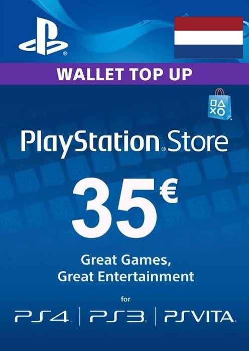 Playstation Network (PSN) card - 35 euro(NETHERLANDS)