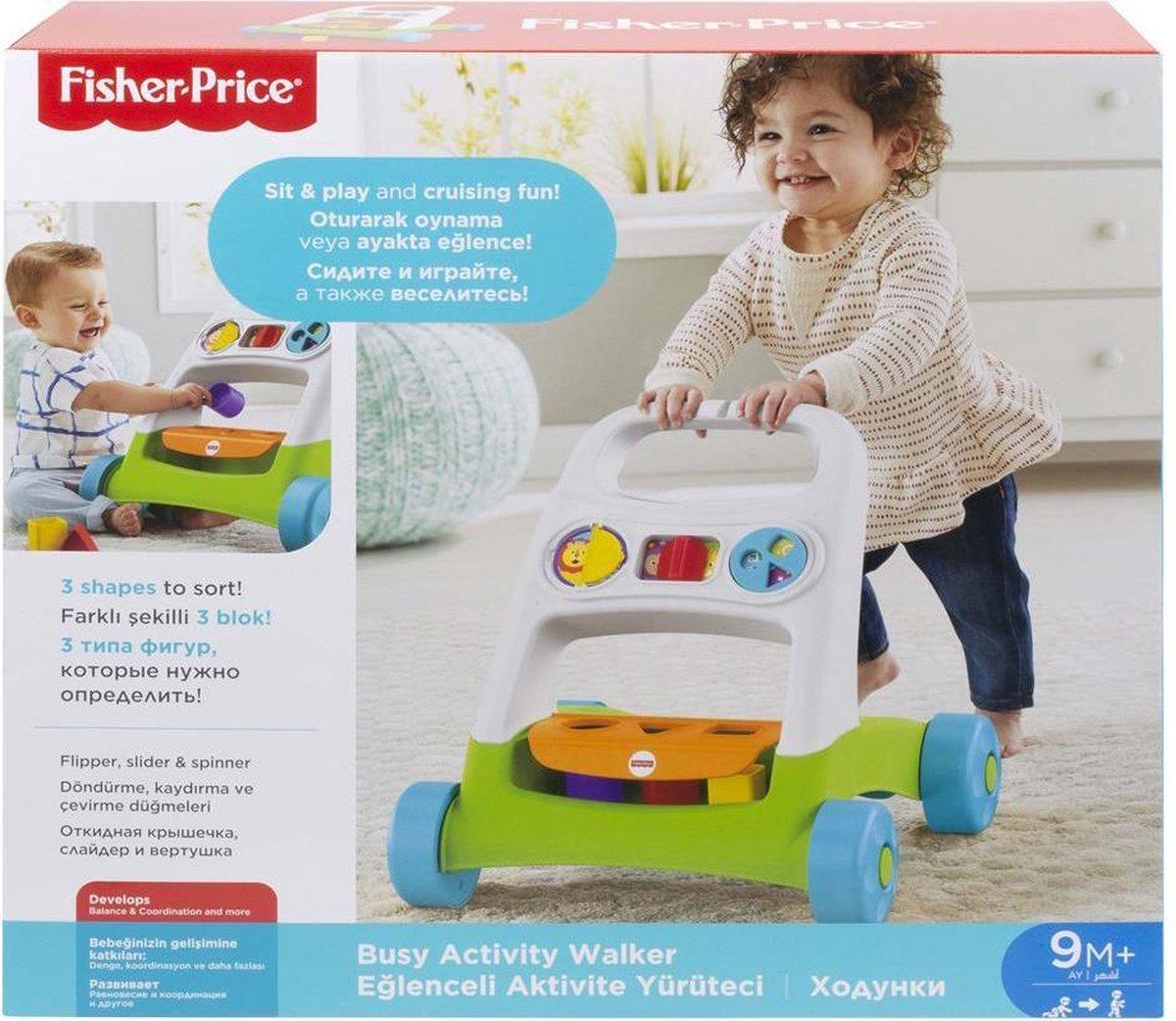 Fisher-Price Busy Activity Walker 9+ mnd