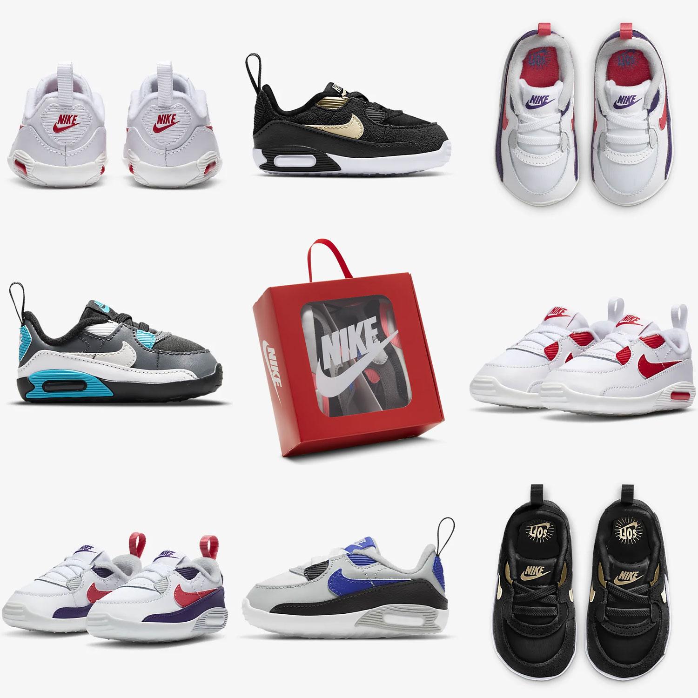 Nike Max 90 Crib babyschoentjes - 30% EXTRA korting