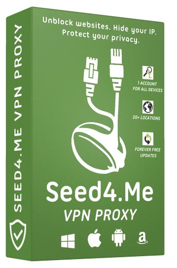 Seed4Me VPN (multiplatform) 1,5 jaar licentie