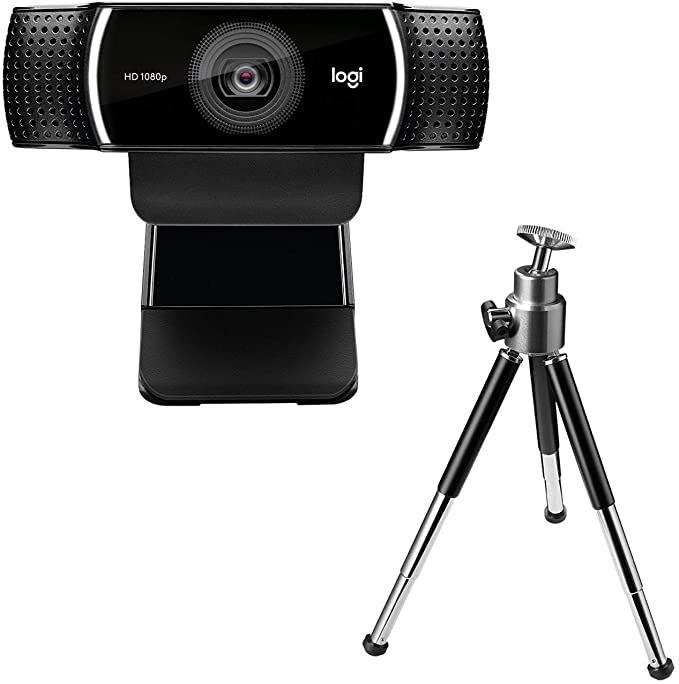 Logitech C922 Webcam met tripod