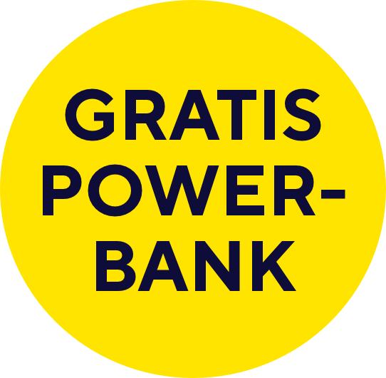 Gratis powerbank bij aankoop van min. 40 euro aan Trust producten