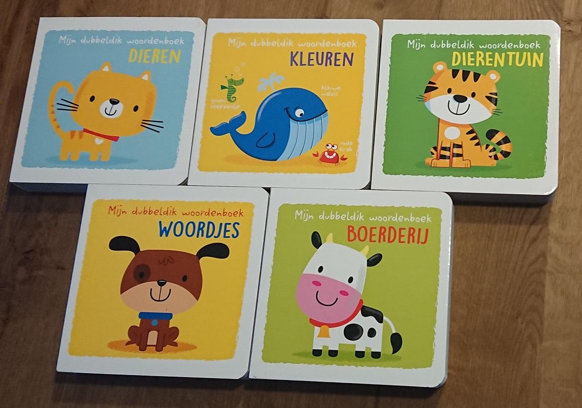 Mijn dubbeldik woordenboeken voor de allerkleinsten - dieren, kleuren, dierentuin, woordjes, boerderij