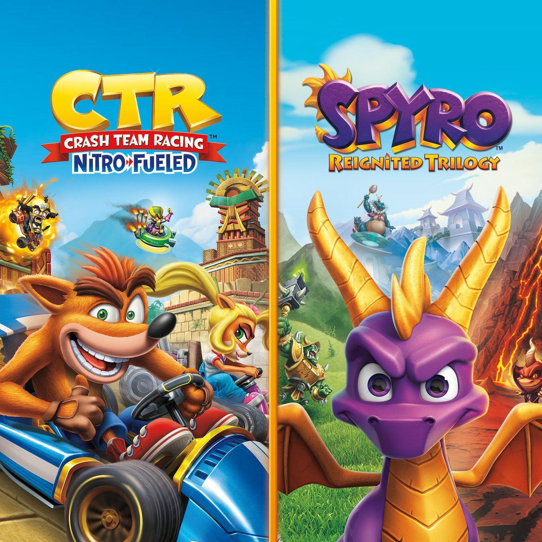 Crash Team Racing + Spyro Reignited Trilogy
