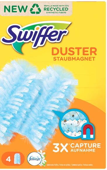 Swiffer duster doekjes €0,20 per stuk