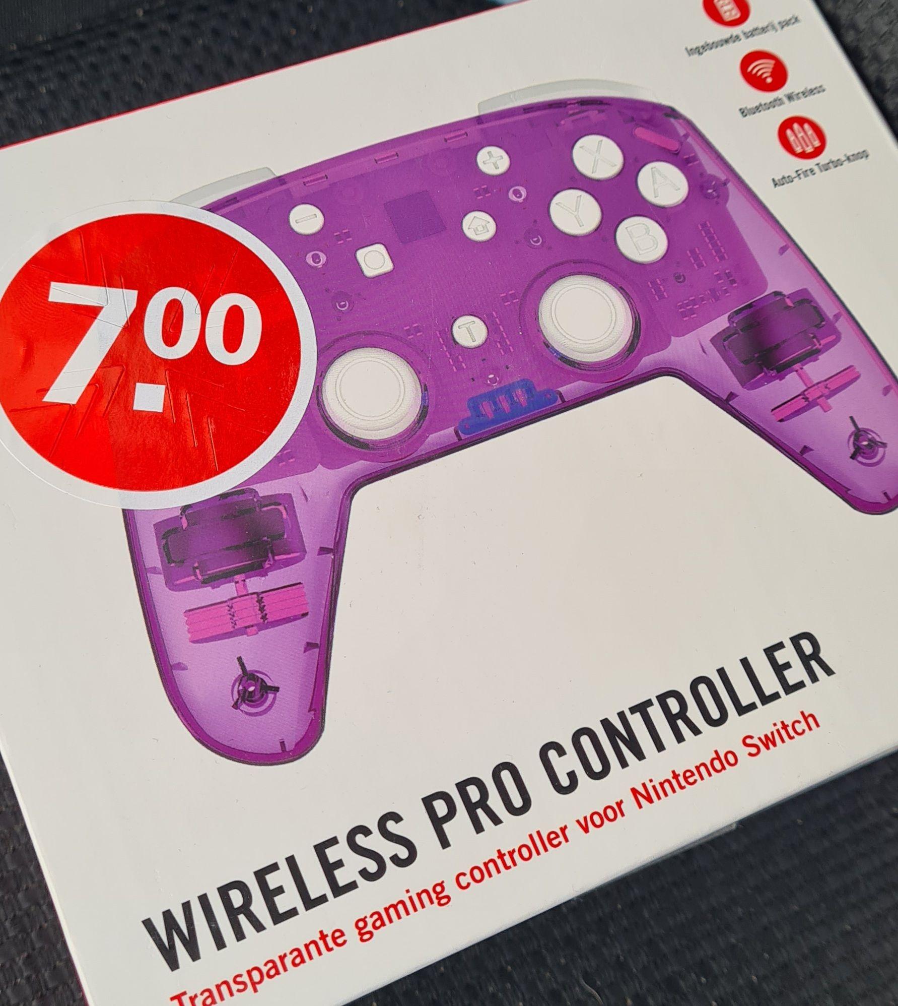 Wireless Pro controller nintendo switch