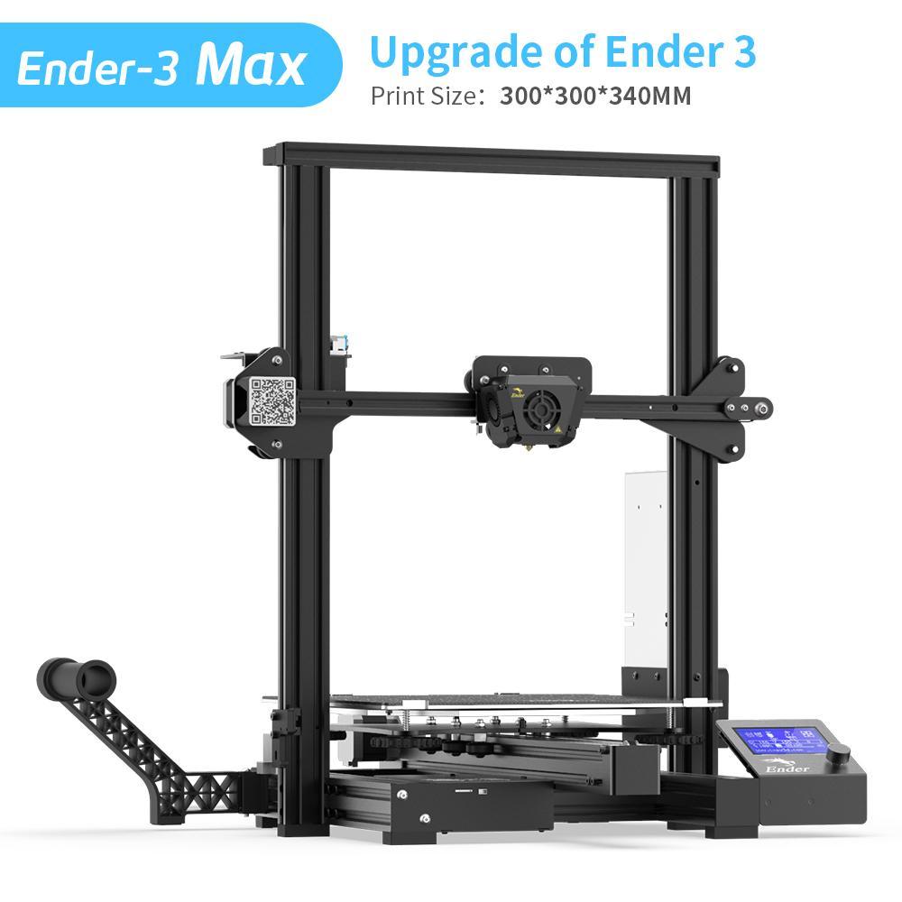 Ender-3 Max 3D Printer - 300x300x340MM