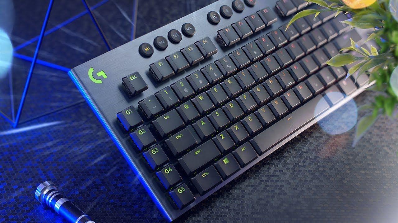 Logitech G915, GL Tactile Switches, (QWERTY US International layout)