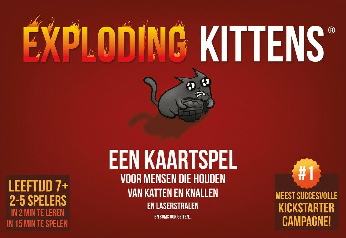 [Dagdeal] Exploding Kittens @ Bol.com