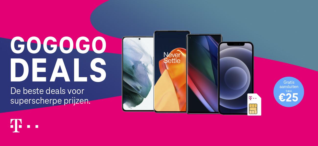 GoGoGo deals: Extra korting op de 5GB/10GB databundel en gratis aansluiten t.w.v. €25