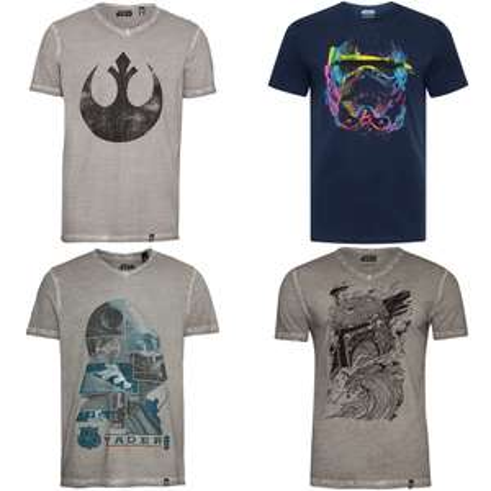 GOZOO Star Wars t-shirts - 40 prints [was €25 // €30] + 25% extra op 2e item