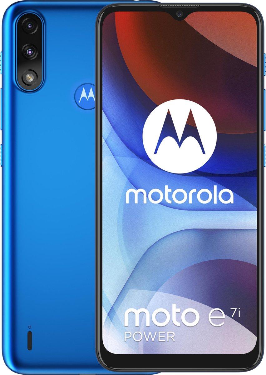 Motorola Moto E7i Power (blauw) Smartphone @ Belsimpel