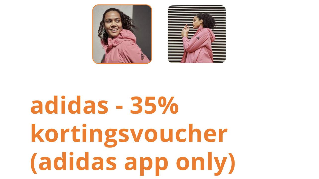 Eurosparen : 35% korting in Adidas App