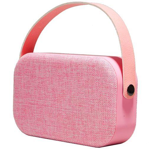 Denver BTS-63 Bluetooth speaker roze @ Belsimpel