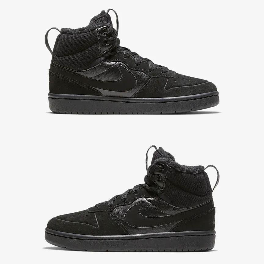 Nike Court Borough Mid 2 kids sneakers