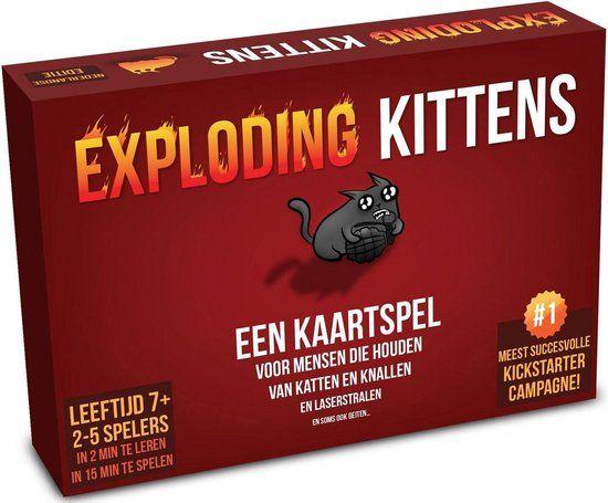 Exploding Kittens 14.99 @Kruidvat (alleen online)